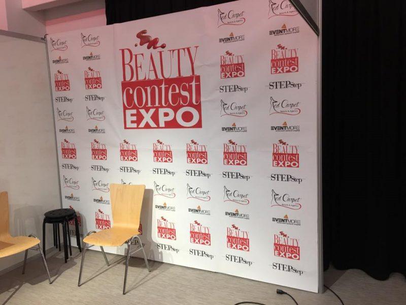 Adesivo Beauty Contest Expo